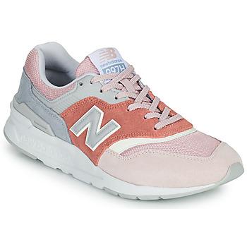 Cipők Női Rövid szárú edzőcipők New Balance 997 Rózsaszín / Szürke
