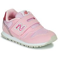 Cipők Lány Rövid szárú edzőcipők New Balance 373 Rózsaszín