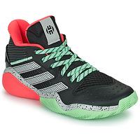 Cipők Kosárlabda adidas Performance HARDEN STEPBACK Fekete  / Szürke / Zöld