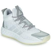 Cipők Kosárlabda adidas Performance PRO BOOST MID Fehér / Ezüst