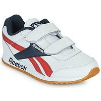 Cipők Gyerek Rövid szárú edzőcipők Reebok Classic REEBOK ROYAL CLJOG 2 2V Fehér / Tengerész / Piros