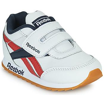 Cipők Gyerek Rövid szárú edzőcipők Reebok Classic REEBOK ROYAL CLJOG 2  KC Fehér / Tengerész / Piros