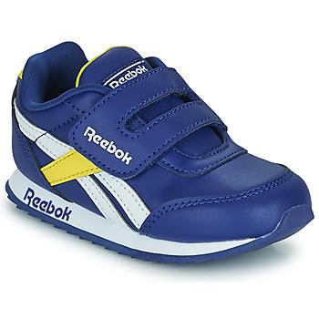 Cipők Gyerek Rövid szárú edzőcipők Reebok Classic REEBOK ROYAL CLJOG 2  KC Kék / Citromsárga / Fehér