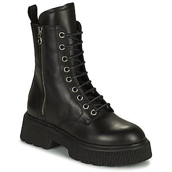Cipők Női Bokacsizmák Mimmu VITELLO Fekete