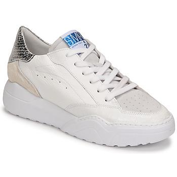 Cipők Női Rövid szárú edzőcipők Semerdjian TANY Fehér / Ezüst