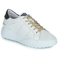 Cipők Női Rövid szárú edzőcipők Semerdjian KYLE Fehér / Bézs / Fekete