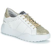 Cipők Női Rövid szárú edzőcipők Semerdjian KYLE Fehér / Arany