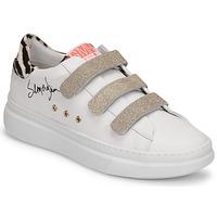 Cipők Női Rövid szárú edzőcipők Semerdjian BARRY Fehér / Arany