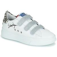 Cipők Női Rövid szárú edzőcipők Semerdjian BARRY Fehér / Ezüst
