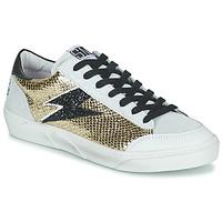 Cipők Női Rövid szárú edzőcipők Semerdjian ELISE Bézs / Arany / Fekete