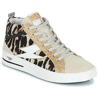 Cipők Női Magas szárú edzőcipők Semerdjian CIELLO Bézs / Arany