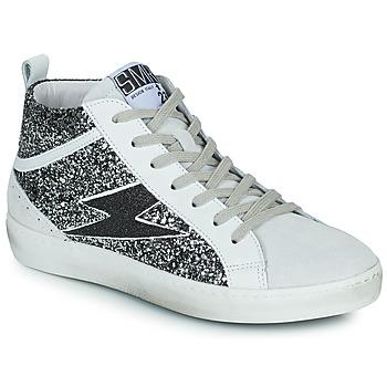 Cipők Női Magas szárú edzőcipők Semerdjian ALFA Bézs / Fekete