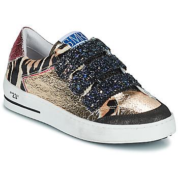 Cipők Női Rövid szárú edzőcipők Semerdjian GAREN Arany / Rózsaszín