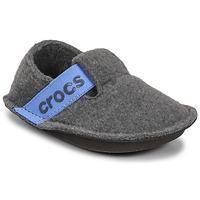 Cipők Gyerek Mamuszok Crocs CLASSIC SLIPPER K Szürke / Kék