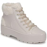 Cipők Női Csizmák Melissa MELISSA FLUFFY SNEAKER AD Bézs / Fehér