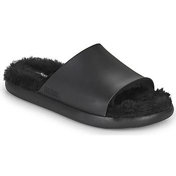 Cipők Női strandpapucsok Melissa MELISSA FLUFFY SIDE AD Fekete