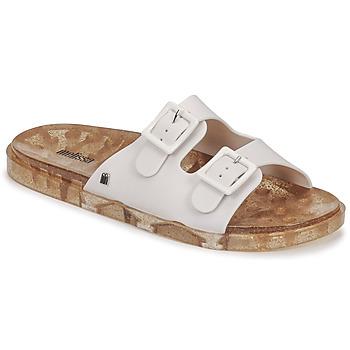 Cipők Női Papucsok Melissa MELISSA WIDE AD Fehér