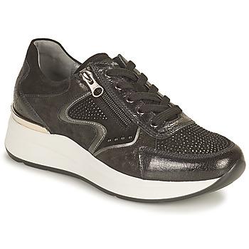 Cipők Női Rövid szárú edzőcipők NeroGiardini CHOU Fekete