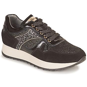 Cipők Női Rövid szárú edzőcipők NeroGiardini BROCOLO Fekete
