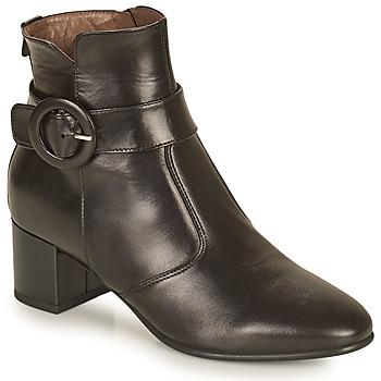 Cipők Női Bokacsizmák NeroGiardini BLETTO Fekete