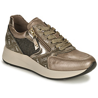Cipők Női Rövid szárú edzőcipők NeroGiardini GIROMONO Arany