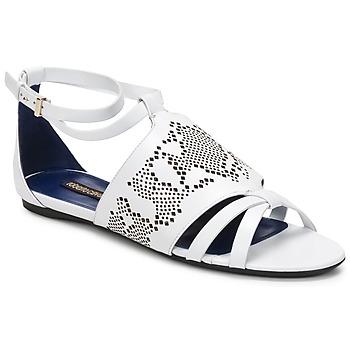 Cipők Női Szandálok / Saruk Roberto Cavalli TPS918 Fehér