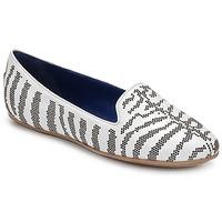 Cipők Női Mokkaszínek Roberto Cavalli TPS648 Fehér