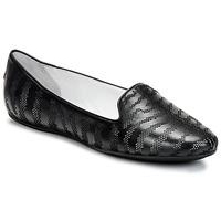 Cipők Női Mokkaszínek Roberto Cavalli TPS648 Fekete