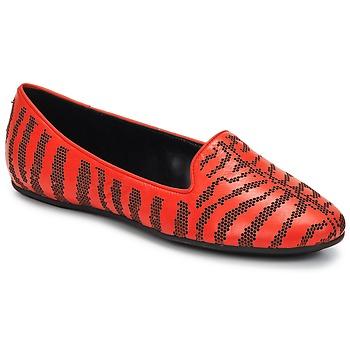 Cipők Női Mokkaszínek Roberto Cavalli TPS648 Piros
