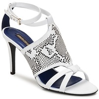 Cipők Női Szandálok / Saruk Roberto Cavalli TPS016 Fehér
