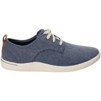 Cipők Férfi Divat edzőcipők Clarks 132276 Kék