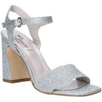 Cipők Női Szandálok / Saruk Grace Shoes 2384002 Ezüst