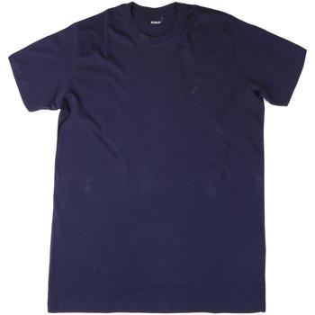 Ruhák Férfi Pólók / Galléros Pólók Key Up 2M915 0001 Kék