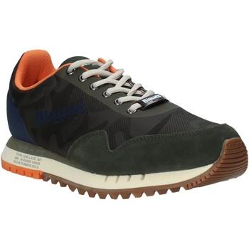 Cipők Férfi Rövid szárú edzőcipők Blauer S1DENVER06/CAS Zöld