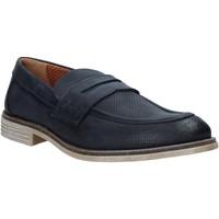 Cipők Férfi Mokkaszínek Melluso XU31063 Kék