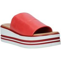 Cipők Női Papucsok Melluso 09602X Piros