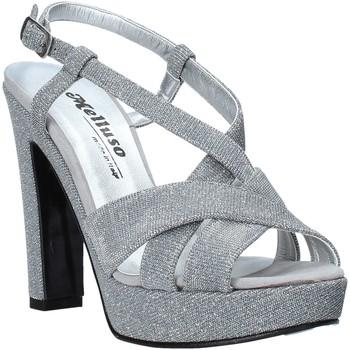 Cipők Női Szandálok / Saruk Melluso HJ440 Ezüst