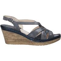 Cipők Női Szandálok / Saruk Melluso 019046Z Kék