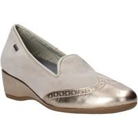 Cipők Női Mokkaszínek Melluso H08121 Bézs