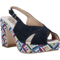 Cipők Női Szandálok / Saruk Melluso H037080 Kék