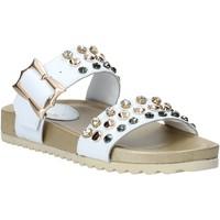 Cipők Női Papucsok Melluso HK80086 Fehér
