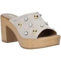 Cipők Női Papucsok Melluso HR80101 Szürke