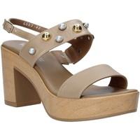 Cipők Női Szandálok / Saruk Melluso HR80107 Bézs