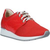 Cipők Női Rövid szárú edzőcipők Melluso HR20012 Piros