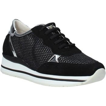 Cipők Női Rövid szárú edzőcipők Melluso HR20033 Fekete