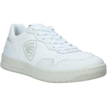 Cipők Férfi Rövid szárú edzőcipők Blauer S1DAYTON01/PUR Fehér