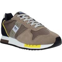 Cipők Férfi Rövid szárú edzőcipők Blauer S1QUEENS01/STO Bézs