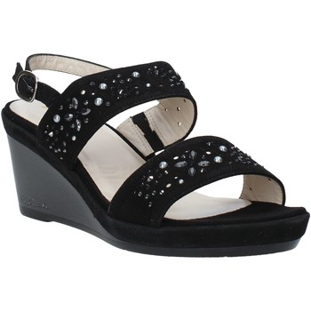 Cipők Női Szandálok / Saruk Melluso HR70512 Fekete