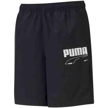Ruhák Gyerek Rövidnadrágok Puma 587022 Fekete