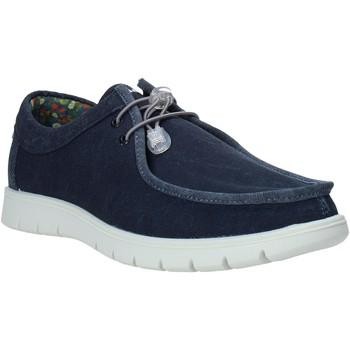 Cipők Férfi Mokkaszínek IgI&CO 7118066 Kék